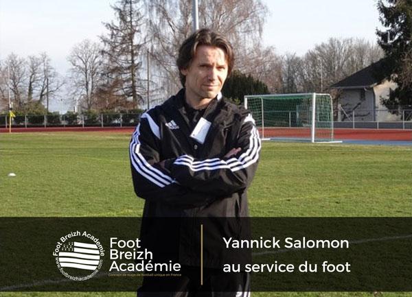 Article de L'UNECATEF : Yannick Salomon au service du foot