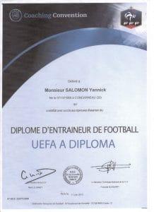 diplome formateur football Licence UEFA A