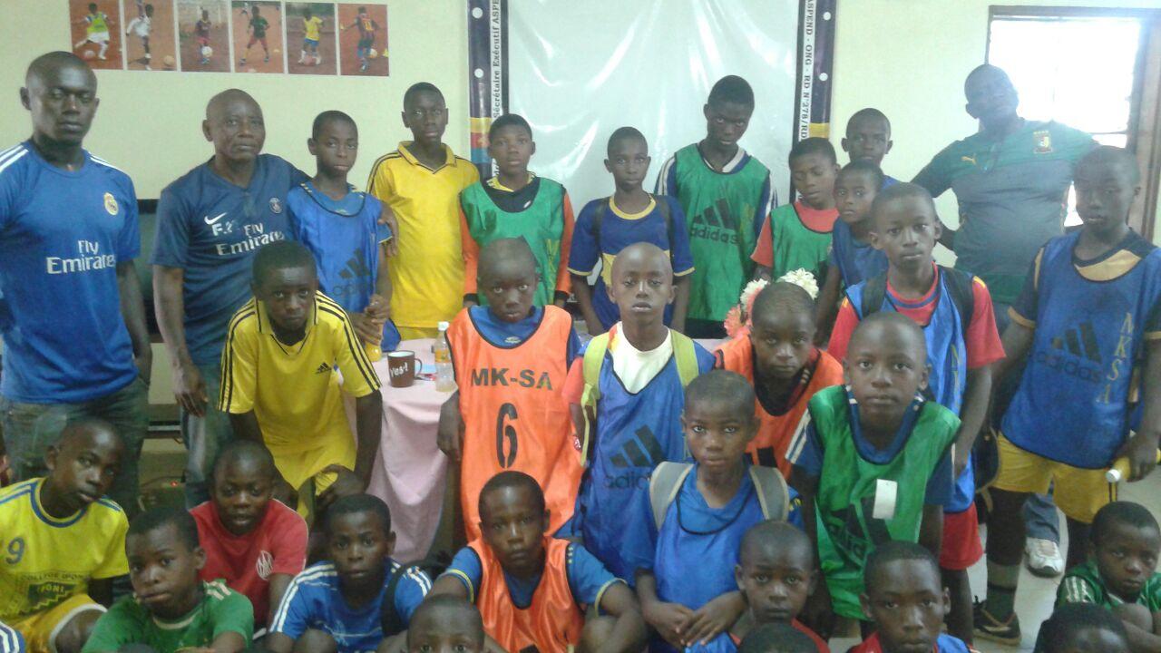 Les jeunes de l'académie MK-SA