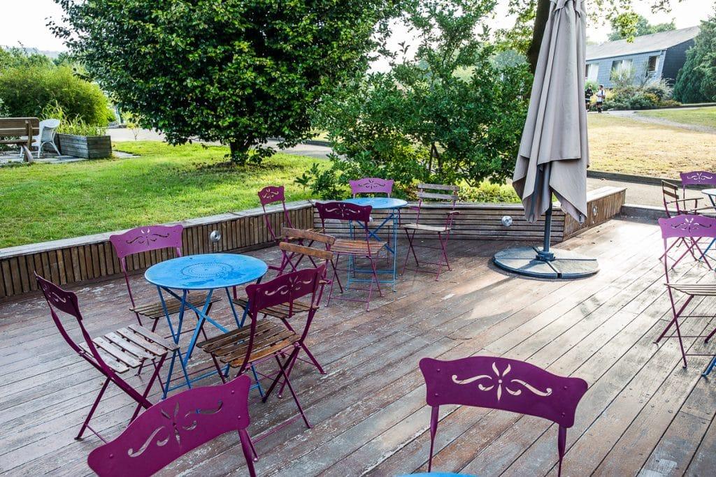 terrasse exterieur bois stage