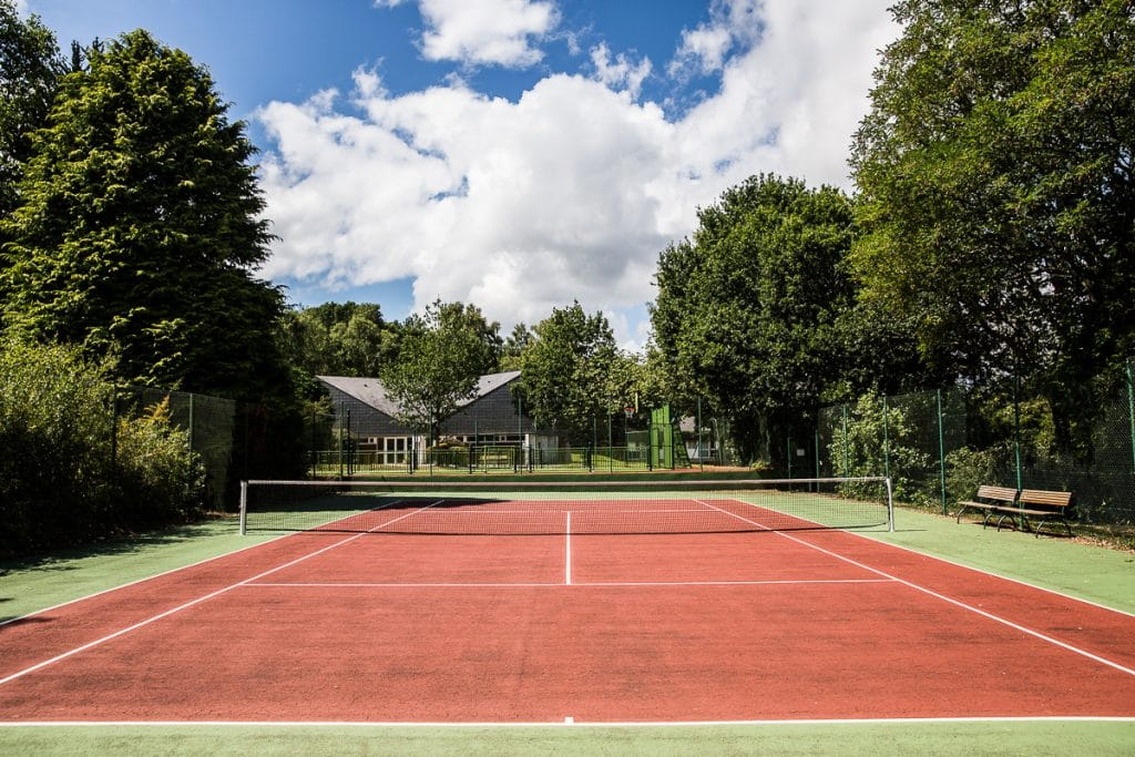 terrain de tennis Stage de Foot