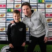 jeune stagiaire footballeur breton plerin