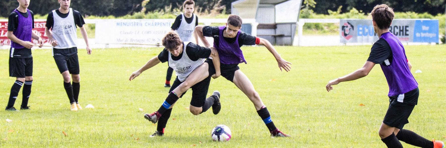 joueur stagiaire foot adolescent