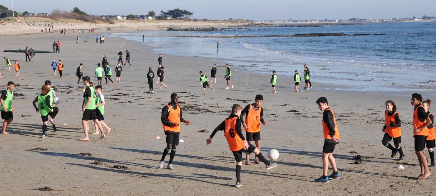 tage de février 2019 Beach soccer appuis technique duels