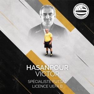Victor Hasanpour Spécialiste Futsal