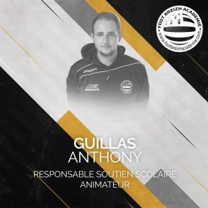 Anthony Guillas Responsable soutien scolaire