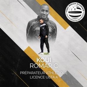 Romaric Koui Préparateur athlétique