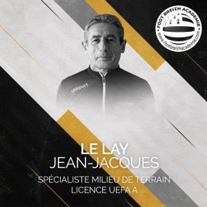Jean-Jacques Lelay Spécialiste milieu de terrain