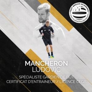 Ludovic Mancheron Spécialiste Gardien de But