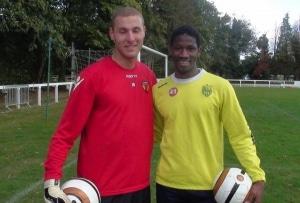 Samba Touré ( FC Nantes) et Georgi Makaridze