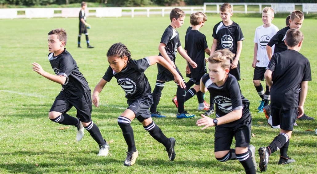 stage toussaint football vacances scolaire vitesse