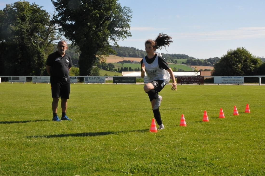 séance coordination file entraînement