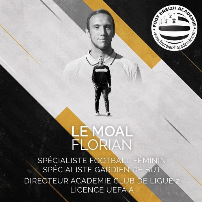 Florian Le Moal Spécialiste football féminin - gardien de but