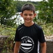 8 ans Emile gardien de but Monaco