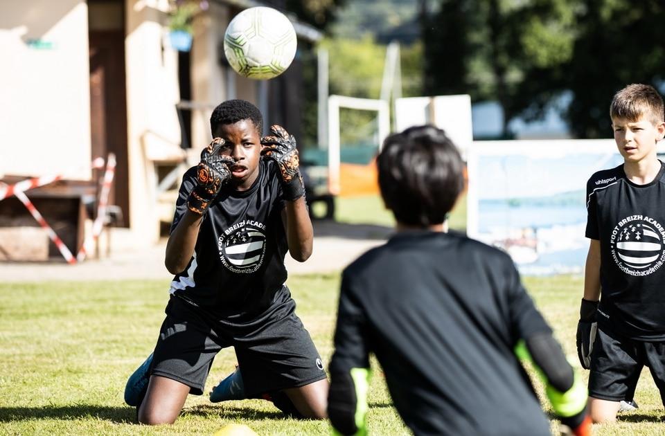 Gardien de but ballon jeune 8 16 ans