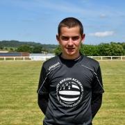 jeune gardien de but Metz terrain de foot