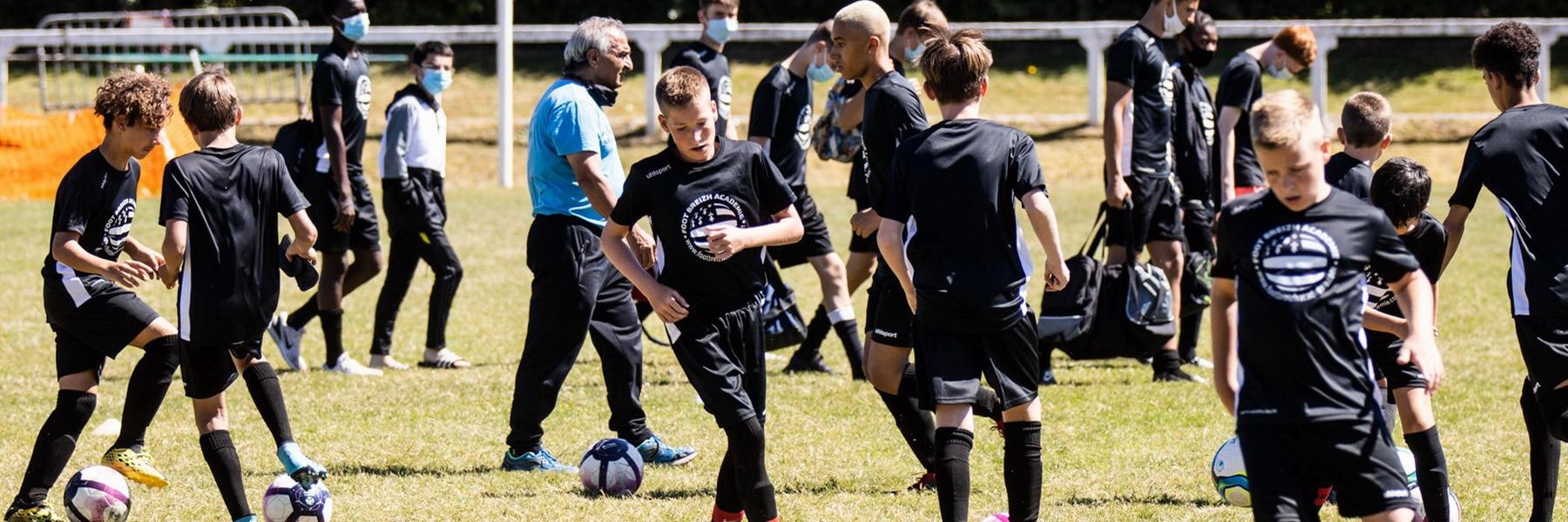 entrainement jeune enfant stage foot breizh académie