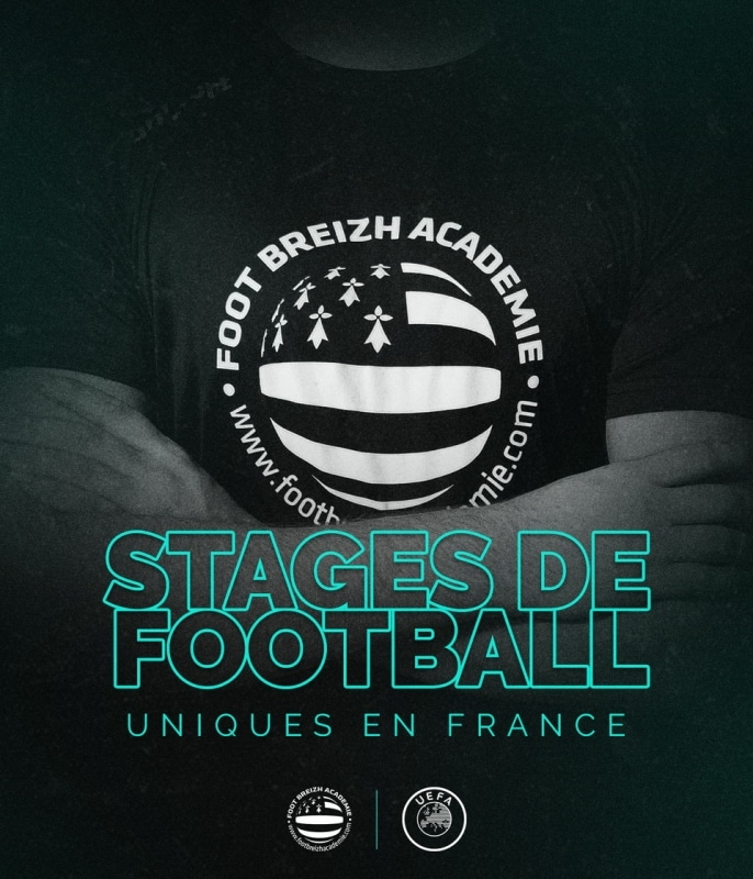 stage de football unique en france bretagne