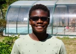 Isaac gardien de but Djibouti piscine
