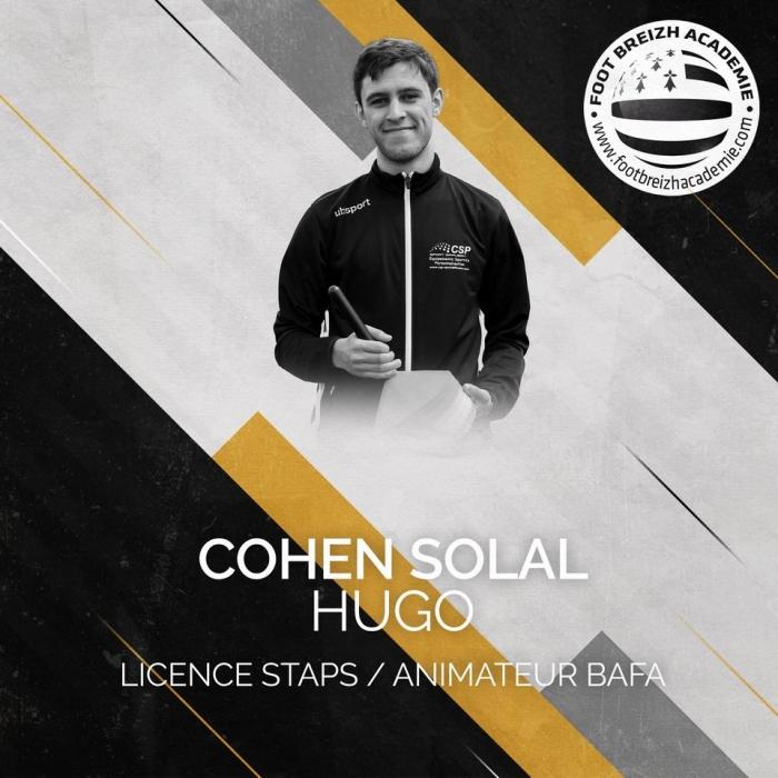 Hugo Cohen Solal Licence Staps