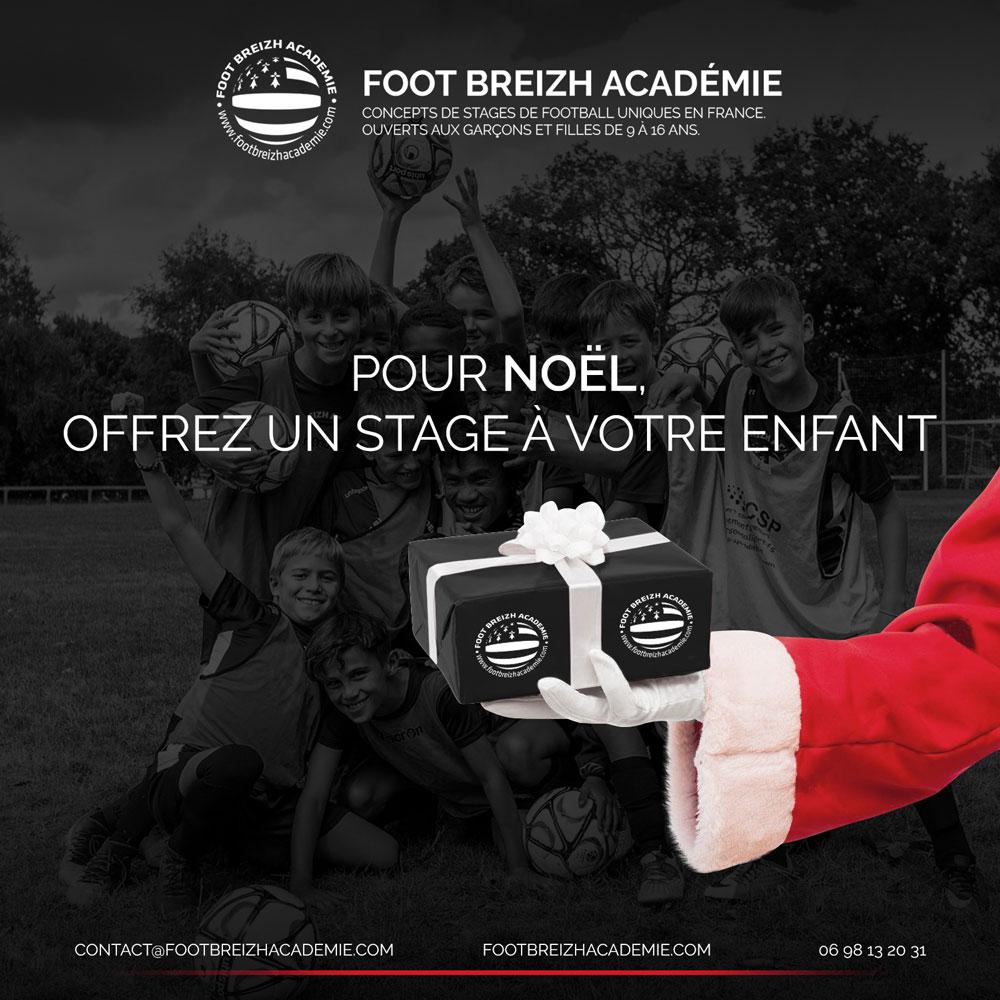 Offrir Stage Foot Cadeau Noel