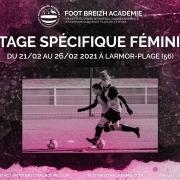 Stage foot feminin