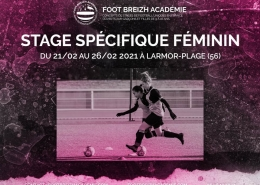 Stage foot feminin