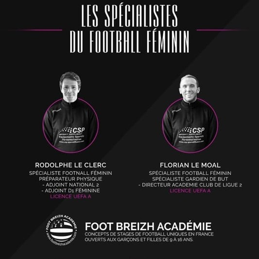Coach Football Feminin