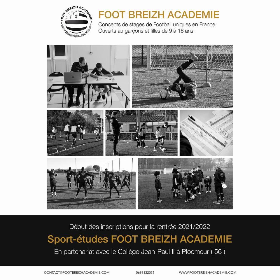 Sport études foot breizh academie