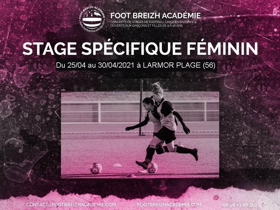Stage féminine Pâques 2021