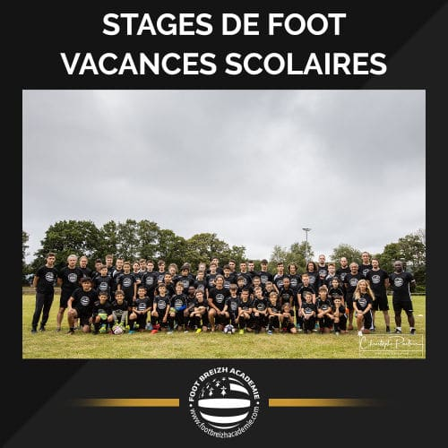 stages foot vacances scolaire
