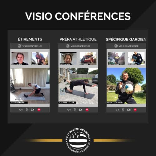 visio conferences football stage
